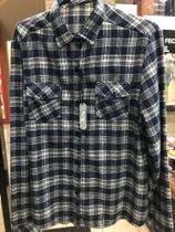 Southsouth camisa manga longa flanela -