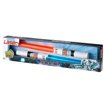 Space Laser Kit com 2 Espadas - Multikids