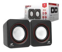 Speaker Caixa Caixinha Som 3w Usb P2 Pc Notebook Desktop - C3 Tech