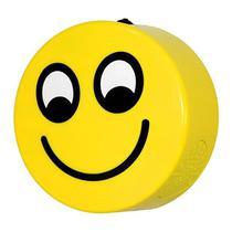 Speaker Maxer HY-BT25 Emoji Sorriso A Bluetooth USB/SD/AUX - Amarelo -