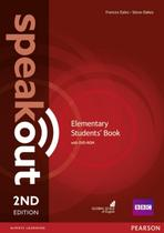 Speakout elementary sb and dvd-rom pack - 2nd ed - Pearson (importado)