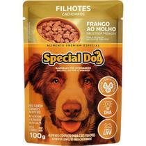 Special Dog Sache Filhote Frango Ao Molho - 100 Gr -