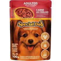 Special Dog Sache Racas Pequenas Carne Ao Molho - 100 Gr -