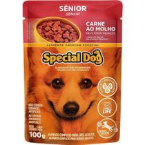 Special Dog Sache Senior Carne Ao Molho - 100 Gr -