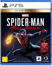Spider-man Miles Morales Edição Deluxe Ps5 - Sony