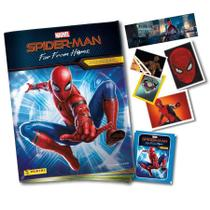 Spiderman -  Álbum Capa Cartão + 20 envelopes - 100 cromos - Marvel