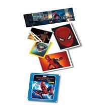 Spiderman -  Kit de Figurinhas com 12 envelopes - 60 cromos - Marvel