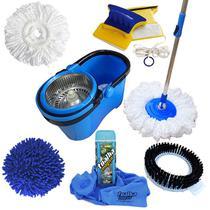 Spin Mop Perfect Pro Com 4 Refis + Toalha Mágica + Rodo Magnético - Vendasshop Utensilios De Limpeza