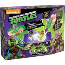 Spin Strikers Estojo Arena Tartarugas Ninja - Dtc