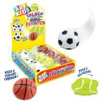 Splash Ball Futebol Basquete Tênis Caixa 12un Acrilex -