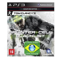 Splinter Cell Blacklist - EdiçãO Brasil - Playstation 3 - Universal