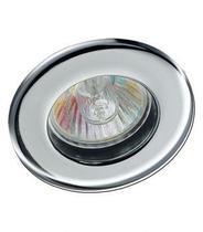 Spot de embutir mini fixo 50w sem lampada cromado - Startec