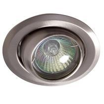 Spot de embutir olho de boi sem lampada titanio modelo solapa - Startec