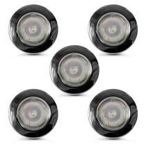 Spot dicroica fixo aco mr16 (com lampada 50w) 05 unidades - Home Line