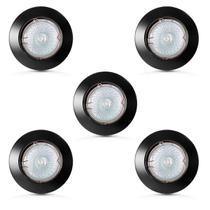 Spot dicroica fixo zamac mr16 (com lampada 50w) 05 unidades - Home Line