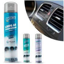 Spray Limpa Ar Condicionado Perfumado Breeze 300ml Higienizador Aerossol Renovador de Ambiente - Proauto