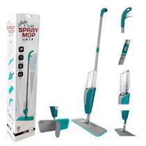 Spray Mop Esfregão Com Reservatório De Água + 1 Refil - 123 Útil