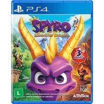 Spyro Reignited Trilogy PS4 Com Chaveiro - Activision