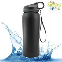 Squeeze 800ml Aço Inox Garrafa Térmica Fitness Água Academ. - Clink