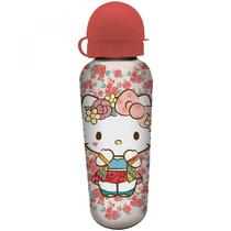 Squeeze de Alumínio Hello Kitty Rose Lace 500ml Urban Rosa -