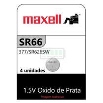 SR66 377 SR626SW 1,5V MAXELL / 4 Baterias -