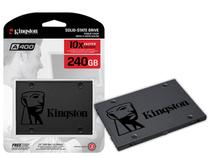 Ssd 240gb Hd Sata 3 Kingston A400!