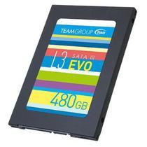 "SSD 480GB para PC e Notebook Sata 3 L3 EVO 2,5"" Team Group T253LE480GTC101 -"