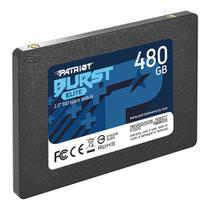 SSD 480GB Patriot Burst Elite SATA 2,5 6Gb/s PBE480GS25SSDR -