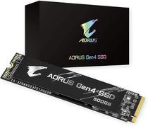 SSD 500GB AORUS M.2 PCIE Gen 4.0 x4 NVME TLC NAND 3D - Modelo GP-AG4500G - Gigabyte Aorus