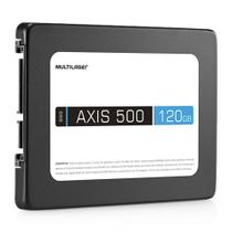 SSD AXIS 500 Multilaser SS100 120GB SATA III 2,5 Polegadas -