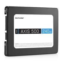SSD AXIS 500 Multilaser SS200 240GB SATA III 2,5 Polegadas -