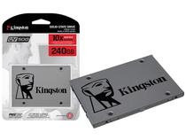 Ssd Desktop Notebook Kingston 240Gb Uv500 2.5 Sata III 6Gb/s -