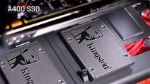 """Ssd Desktop Notebook Ultrabook Kingston A400, 120gb, 2.5"""", Sata Iii 6 Gb/S - Sa400s37-120gb -"""