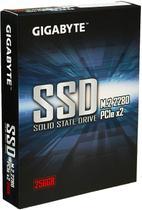SSD Gigabyte 256GB M.2 PCIe NVMe Leituras 1700Mb/s e Gravações 1100Mb/s - GP-GSM2NE3256GNTD -