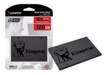 SSD Kingston 120GB Sata3 2.5 SA400S37 Disco Sólido Interno -