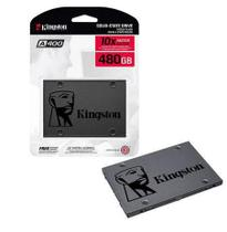 SSD Kingston 480GB Sata3 2.5 SA400S37 Disco Sólido Interno -
