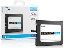 "SSD Multilaser SS100 AXIS 500 120GB 2.5"" SATA III com PPB -"