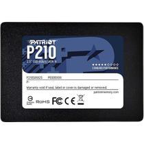 Ssd patriot p210 p210s256g25 sata 3 256gb 2,5 polegadas leitura 500mb/s e gravação 400mb/s -