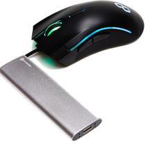 SSD Portátil 256GB e Mouse Gamer GT Strike - Goldentec