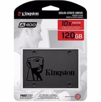 Ssd Sata Desktop Notebook Kingston Sa400s37/120gb A400 120gb 2.5 Sata Iii 6gb/s -