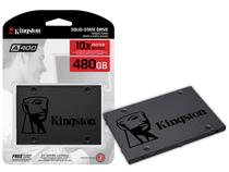 Ssd Sata Desktop Notebook Kingston Sa400s37/480g A400 480gb 2.5 Sata Iii 6gb/S -