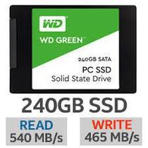 Ssd wd 240gb green sata3 2.5 7mm wds240g2g0a - Western Digital