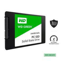 """Ssd wd green 120gb 2,5"""" 7mm sata 3 - wds120g2g0a -"""