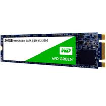 SSD WD Green M.2 2280 240GB - WDS240G2G0B - Western Digital -