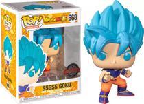 SSGSS Goku 668 Exclusivo Pop Funko Dragon Ball Super - Funko Pop