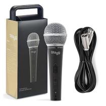 Stagg Microfone Dinâmico c/ Cabo 5 mts SDM50 -