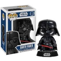 Star Wars Boneco Funko Pop Darth Vader Vinyl Bobble Head -