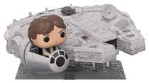Star Wars - Millennium Falcon with Han Solo - Funko Pop! Deluxe -