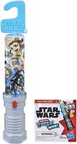 Star Wars - Mini Sabre de Luz e Mini Figura Surpresa - Micro Force Série 2 E4368 - Hasbro