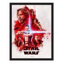 Star Wars: Os Últimos Jedi quadro retrô vintage - Conspecto